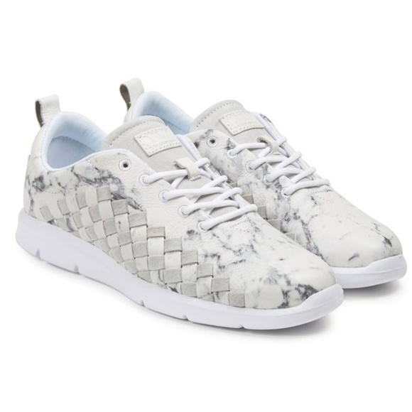 9abd227a9b VANS White Marble OTW Tesella skate sneakers 11. M 5b63a5196a0bb7556b9ebb02